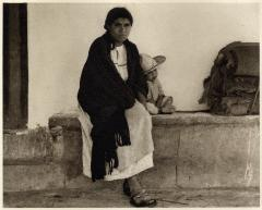 Woman and boy, Tenancingo, 1933 -1967