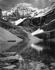 Lake Oesa, Mt. Lefroy, British Columbia, 1987