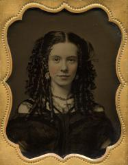 Portrait of a young woman, c 1860