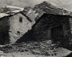 Farm, Valley of the Arc, Haute, Savoie, France, 1950