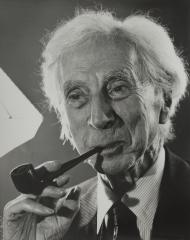 Sir Bertrand Russell, 1958