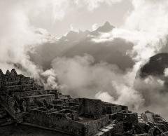 Dawn at Machu Picchu, with Clouds, 2000