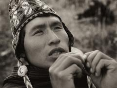 Puma's Prayer, a young Shaman from Chicero, 2001
