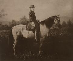 Robert E. Lee on Traveller