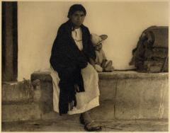 Woman and boy, Tenancingo, 1933 - 1940