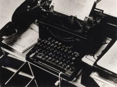Charis Weston's Typewriter, 1940
