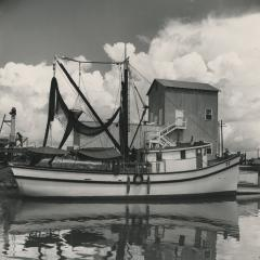 Louisiana, fishing boat, 1947