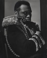 "Paul Robeson as ""The Emperor Jones."" New York, 1933"