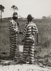 Two Members of a Prison Work Gang, possibly Louisiana, ca. 1935