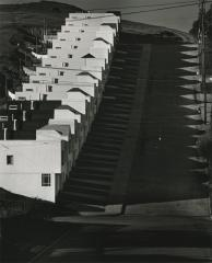 Keyboard Houses, San Francisco, California, 1947