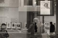 Self Portrait at The Museum of Modern Art, New York, 1970