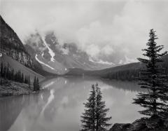 Clouds, Moraine Lake, Alberta , 1987
